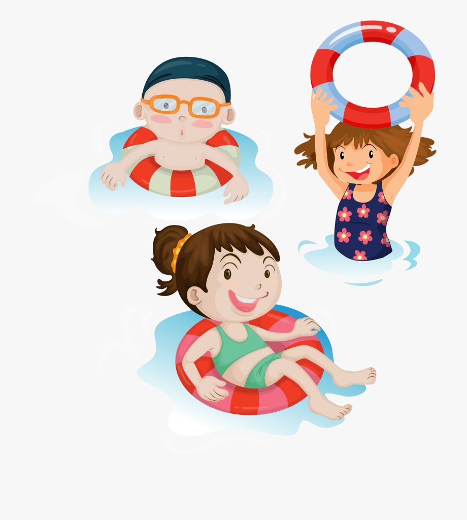 Clipart of a child wearing a swimsuit black and white clip free library Child Clip Art Swim Transprent Png Free Ⓒ - Swimming Clipart Png ... clip free library