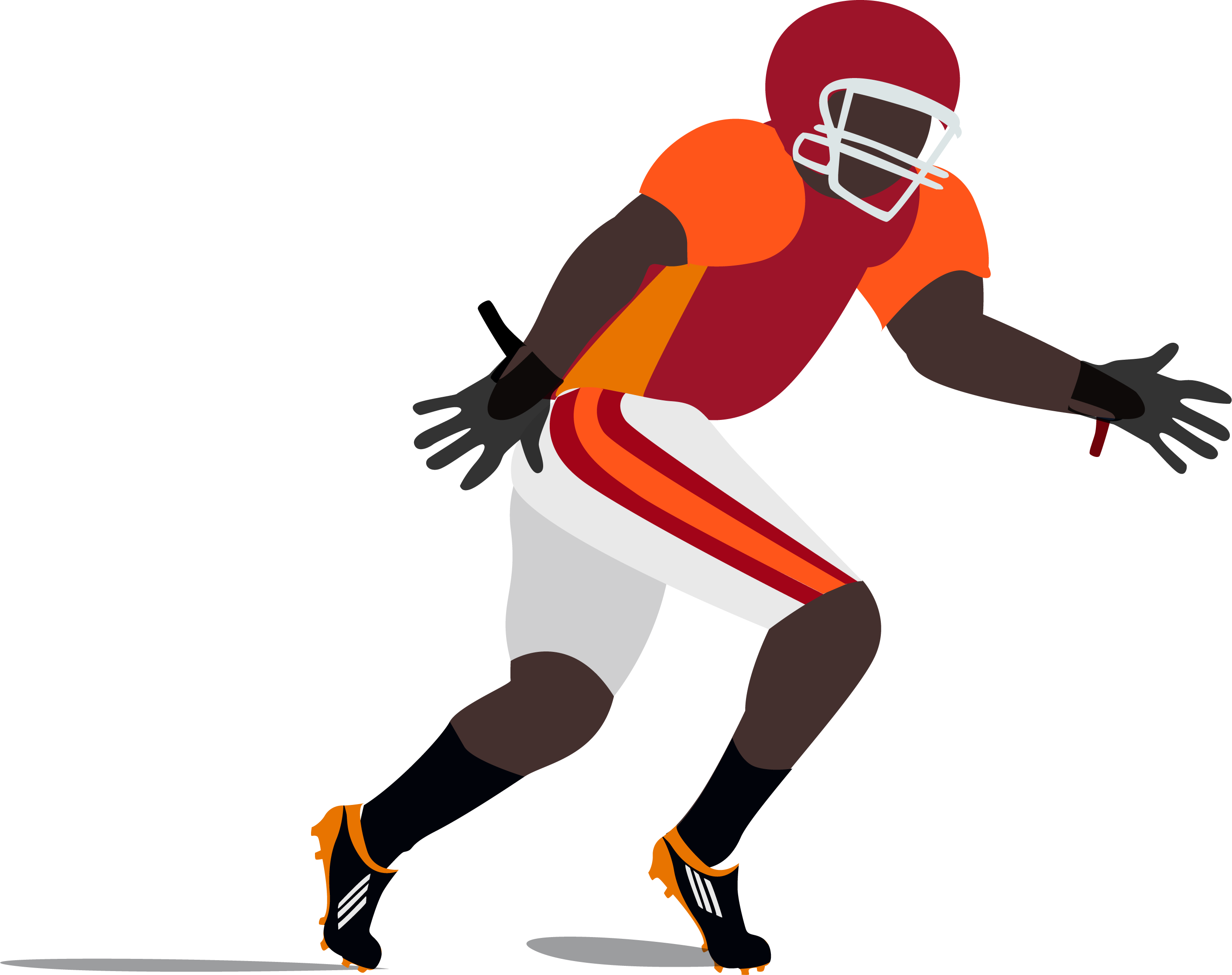 Clipart of a coach grabbing a football player free download The Student Section: OZY\'s College Football Crash Course | The ... free download