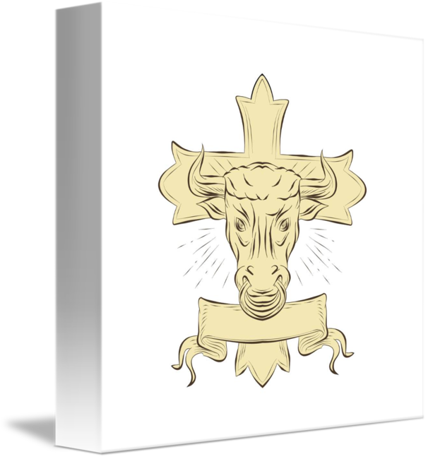 Clipart of a cross with a crown of thorns wrapped around it clip library Christian Cross Drawing at GetDrawings.com   Free for personal use ... clip library
