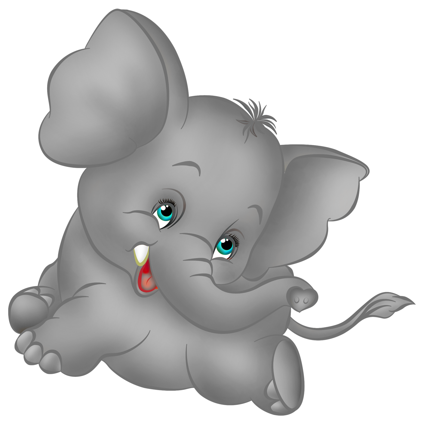 Elephant reading a book clipart picture freeuse stock Grey Elephant Cartoon Free Clipart | Elephants Roll Tide Big All And ... picture freeuse stock