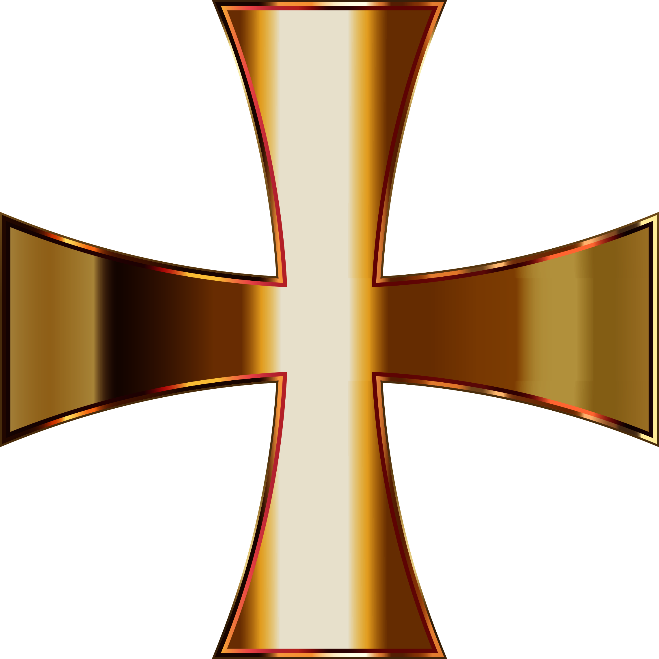 Clipart of a cross with gray background clip art freeuse library Gold Maltese Cross Enhanced Contrast No Background Icons PNG - Free ... clip art freeuse library