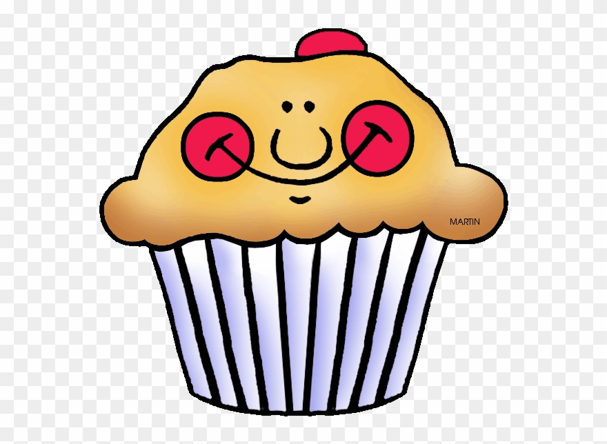 Clipart of a cupcake with a face jpg free library Muffin Clipart Face - Cranberry Muffins Clipart - Png Download ... jpg free library