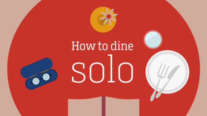 Clipart of a dinner restaurant on the inside black and white stock Solo dining: Tips for eating out alone at a restaurant | CNN Travel black and white stock