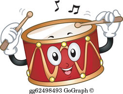 Clipart of a drum jpg free download Drum Clip Art - Royalty Free - GoGraph jpg free download
