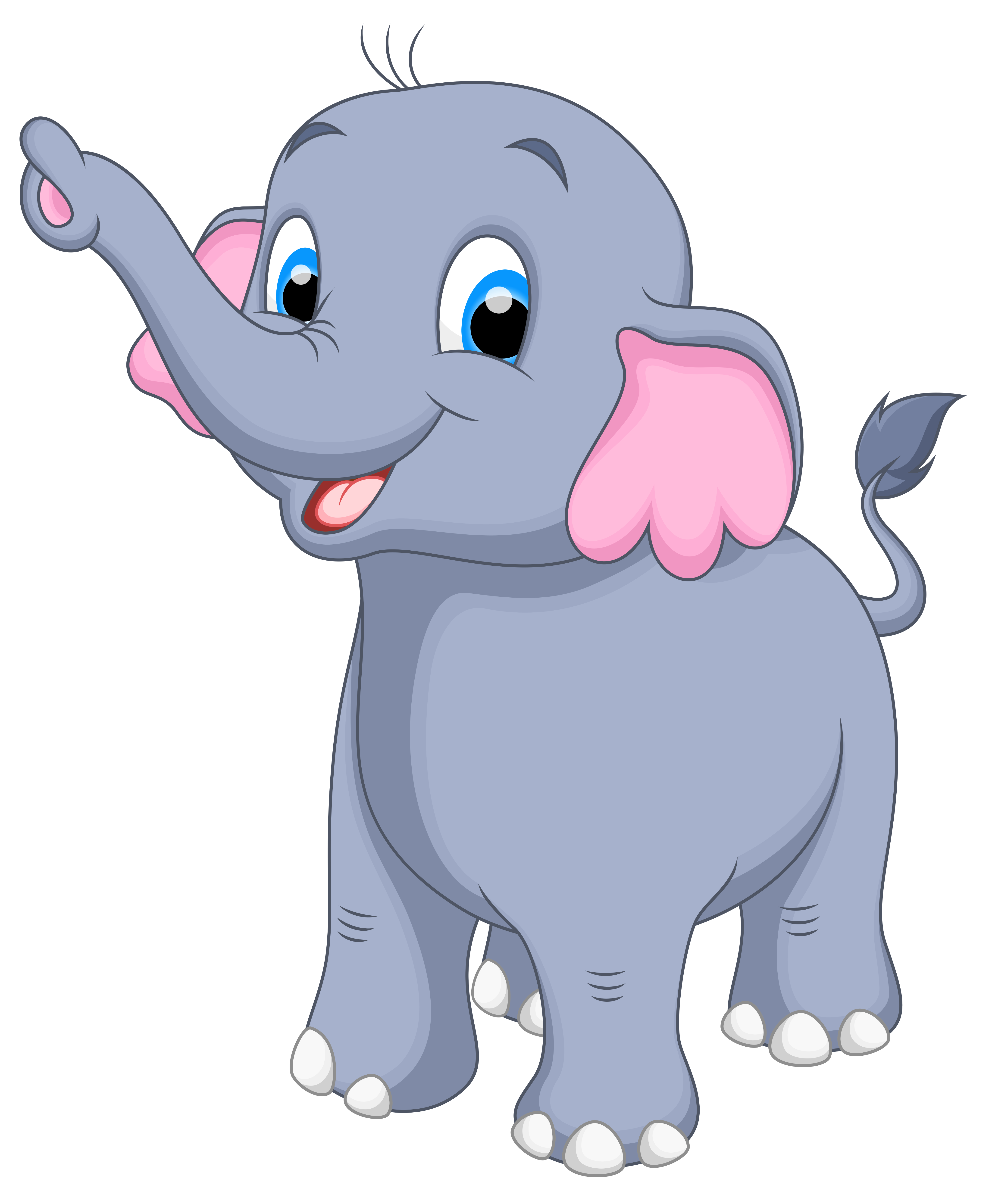Clipart of a elephant vector royalty free Little Elephant PNG Clipart Image | Gallery Yopriceville - High ... vector royalty free
