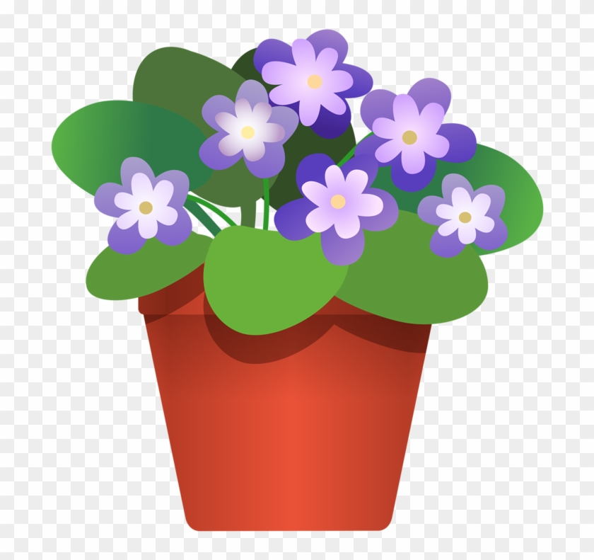 Clipart of a flower pot jpg black and white download Flower Pot 3 Tree Pinterest Flower Clip Art And Scrapbook - Clipart ... jpg black and white download