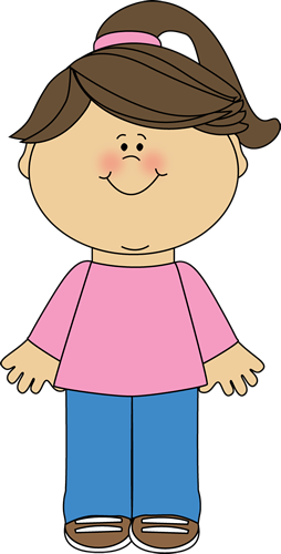 Clipart of a girl standing png girl standing Girl clipart png - Clipartix png