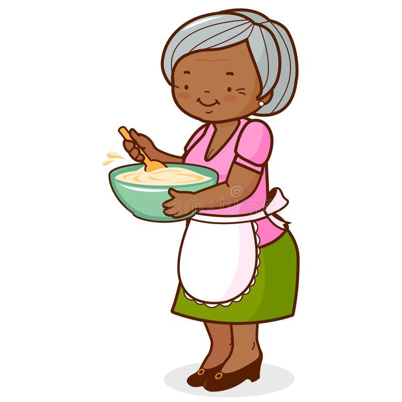 Clipart of a grandma vector royalty free stock African american grandma clipart 3 » Clipart Station vector royalty free stock