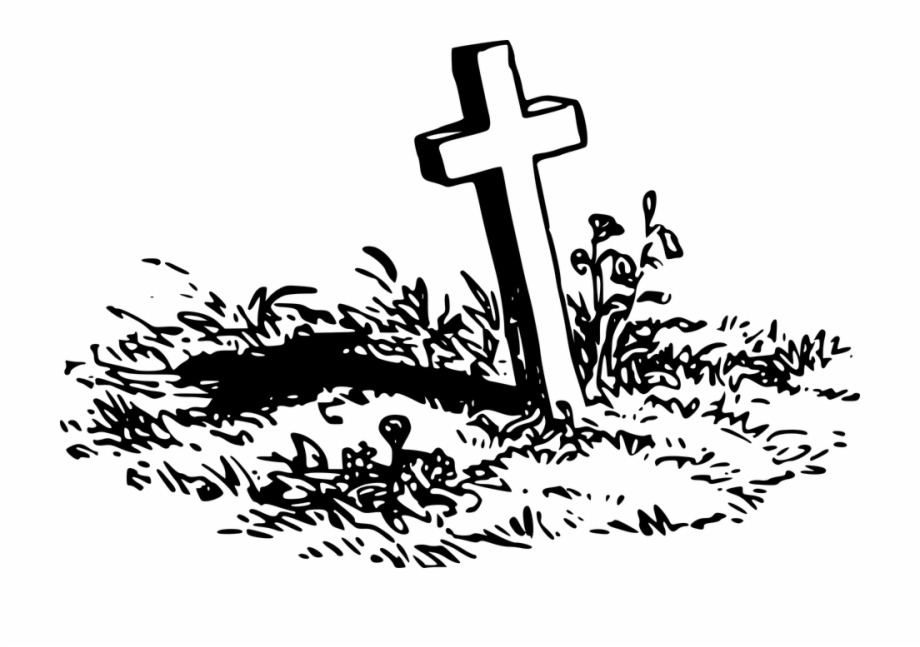Clipart of a grave jpg freeuse stock Grave With A Cross Png Stickpng Download - Grave Clipart Free PNG ... jpg freeuse stock