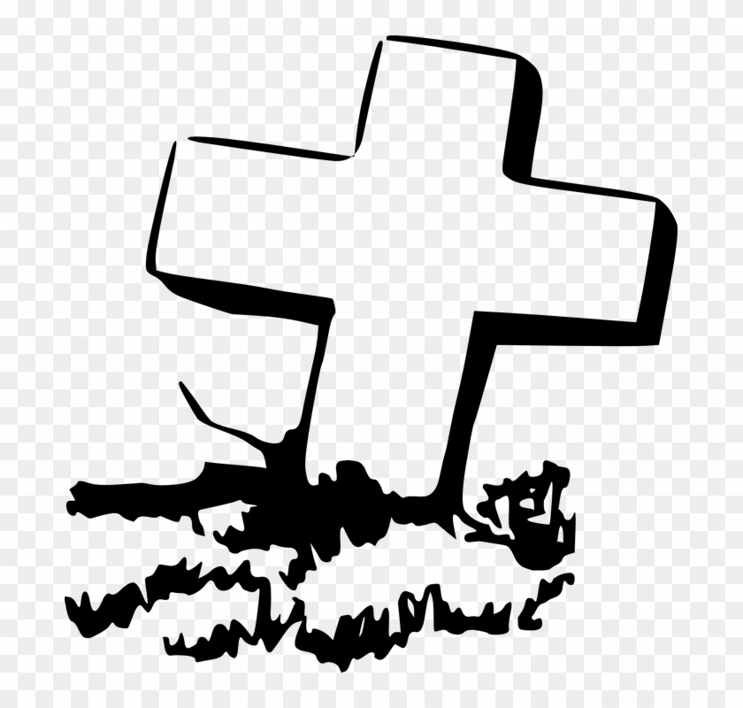 Clipart of a grave banner download Gravestone Clipart Rip Cross - Grave Clip Art, HD Png Download ... banner download