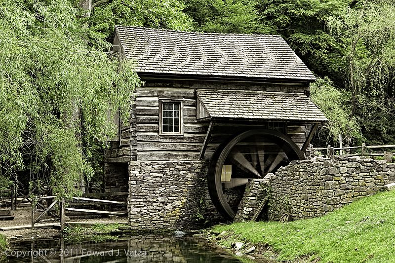 Clipart of a guys running a stone mill royalty free library Cuttaloosa Farm Old Mill (Bucks County, PA) | Grist Mills and other ... royalty free library