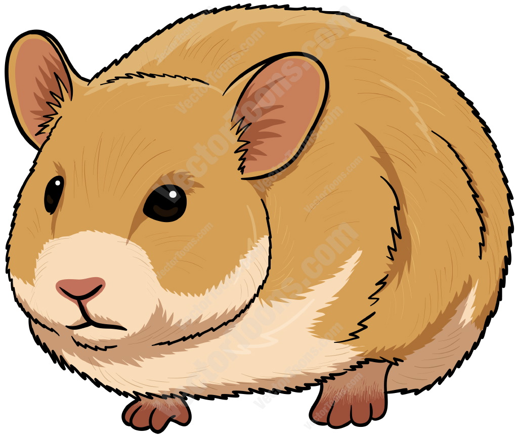 Clipart of a hamster