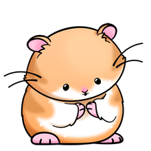Clipart of a hamster graphic free library dwarf hamster | clipart | Kawaii drawings, Cute drawings, Animal ... graphic free library