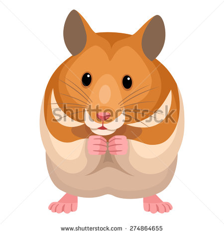 Clipart of a hamster black and white stock Hamster clipart 9 » Clipart Station black and white stock