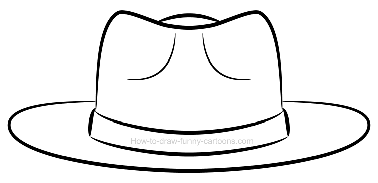 Clipart of a hat png royalty free How to draw a clipart hat png royalty free