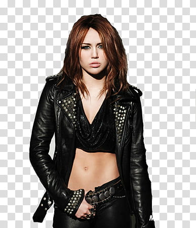 Clipart of a jacket on the floor graphic library download Miley cyrus, woman wearing black jacket transparent background PNG ... graphic library download