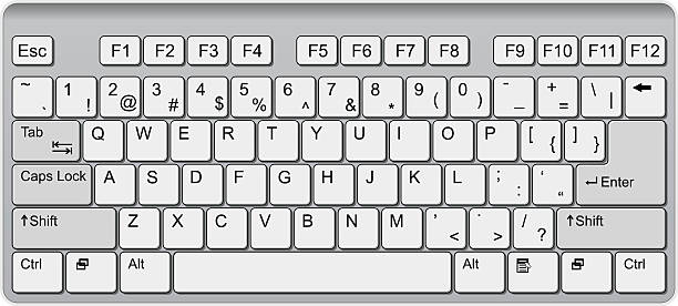 Clipart of a keyboard