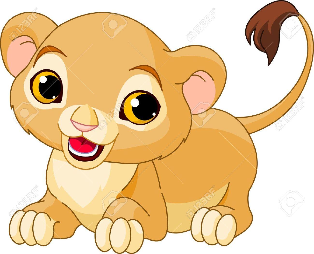 Clipart of a lion cub svg freeuse library Lion cub clipart 5 » Clipart Station svg freeuse library