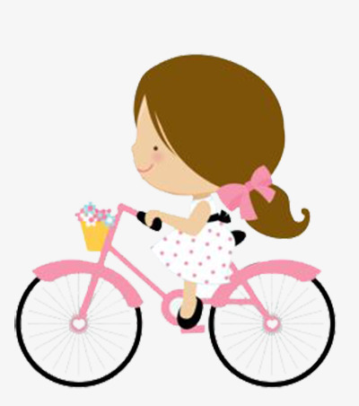 Clipart of a little girl riding a bike graphic freeuse Png Of A Little Girl Riding A Bike & Free Of A Little Girl Riding A ... graphic freeuse