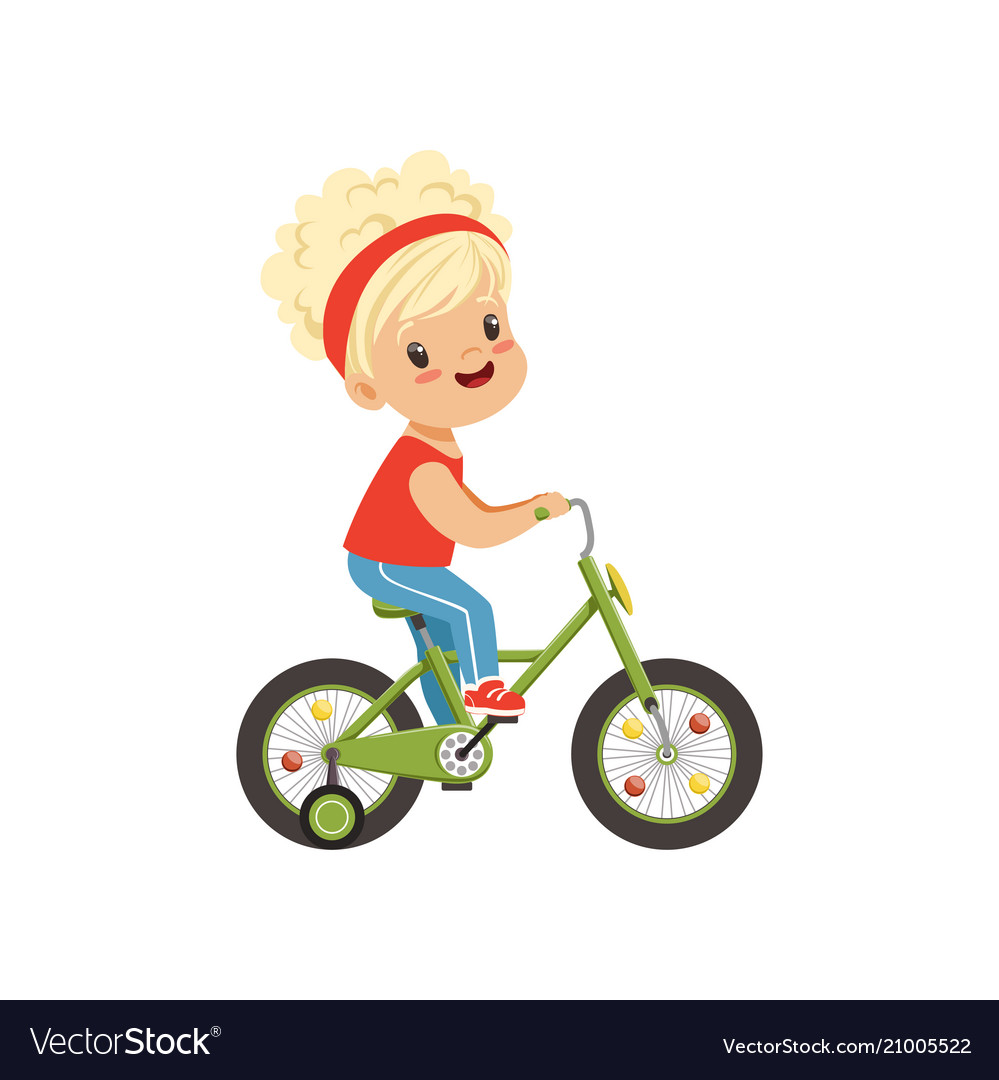 Clipart of a little girl riding a bike graphic transparent download Lovely little girl riding bike kids physical graphic transparent download
