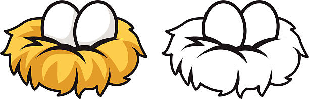 Clipart of a nest graphic freeuse library Bird In Nest Clipart | Free download best Bird In Nest Clipart on ... graphic freeuse library