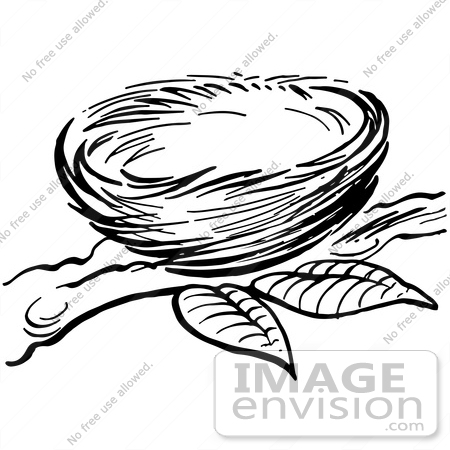 Clipart of a nest black and white graphic transparent library Nest black and white clipart 4 » Clipart Station graphic transparent library