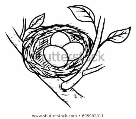 Clipart of a nest black and white png transparent download Nest black and white clipart 2 » Clipart Portal png transparent download