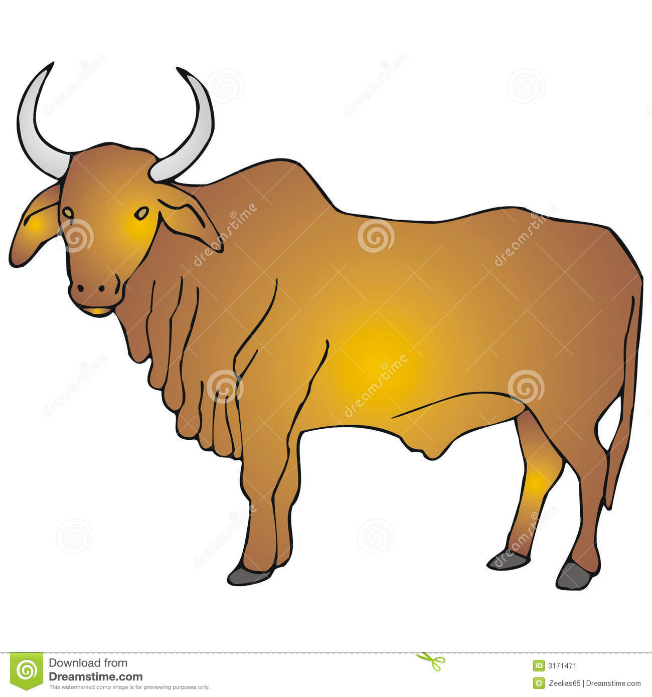 Clipart of a ox with a plow without a wip jpg black and white Ox clipart - 149 transparent clip arts, images and pictures for free ... jpg black and white