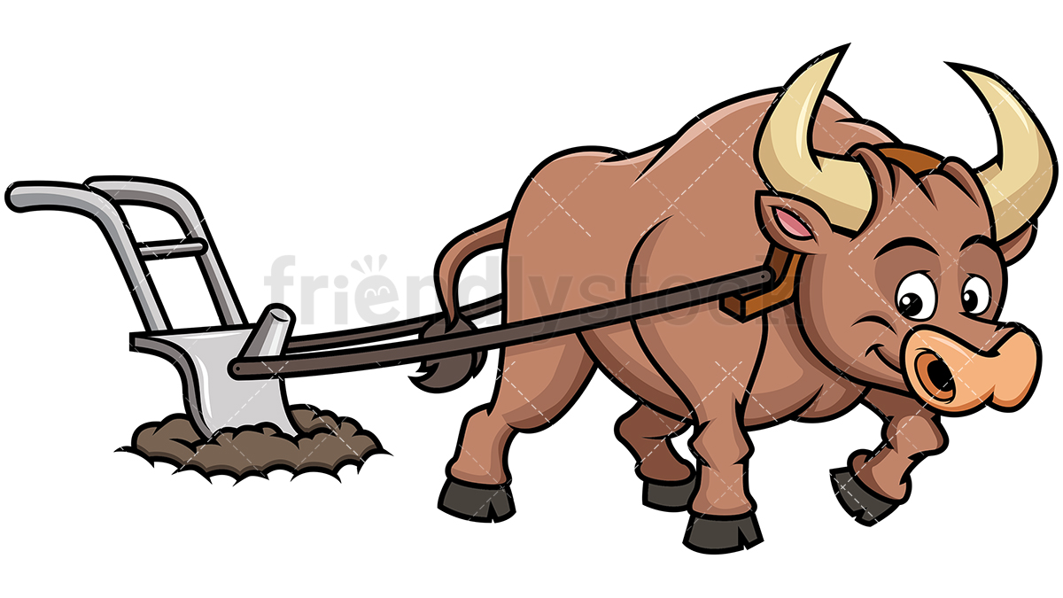 Clipart of a ox with a plow without a wip picture royalty free download Ox clipart - 149 transparent clip arts, images and pictures for free ... picture royalty free download