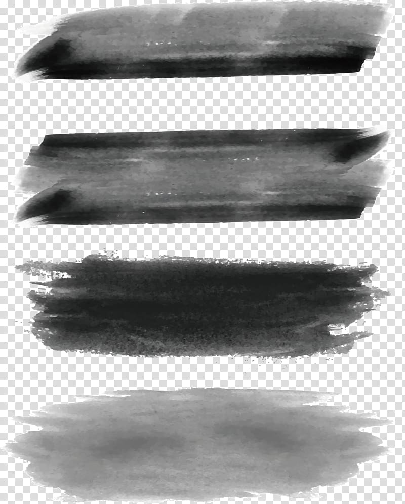 Clipart of a pencil gray background clip art black and white stock Color sample, Ink brush Black and white Paintbrush Watercolor ... clip art black and white stock