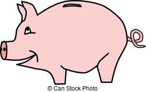 Images clipartfest piggybank vectorby. Clipart of a piggy bank