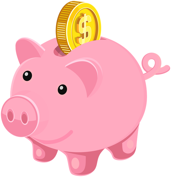 Piggy Bank PNG Clip Art Image | Hair and beauty | Pinterest image royalty free stock