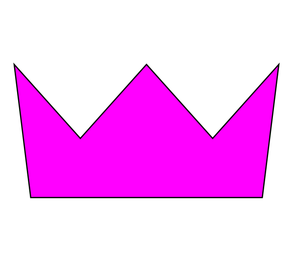 Crown clipart pink picture free stock Pink Crown Clip Art at Clker.com - vector clip art online, royalty ... picture free stock