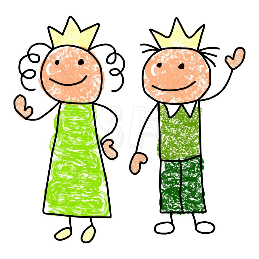 Clipart of a queen jpg black and white stock King And Queen Clipart & King And Queen Clip Art Images ... jpg black and white stock