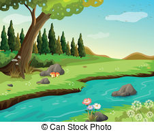 Clipart of a river png transparent library River Illustrations and Clip Art. 43,354 River royalty free ... png transparent library
