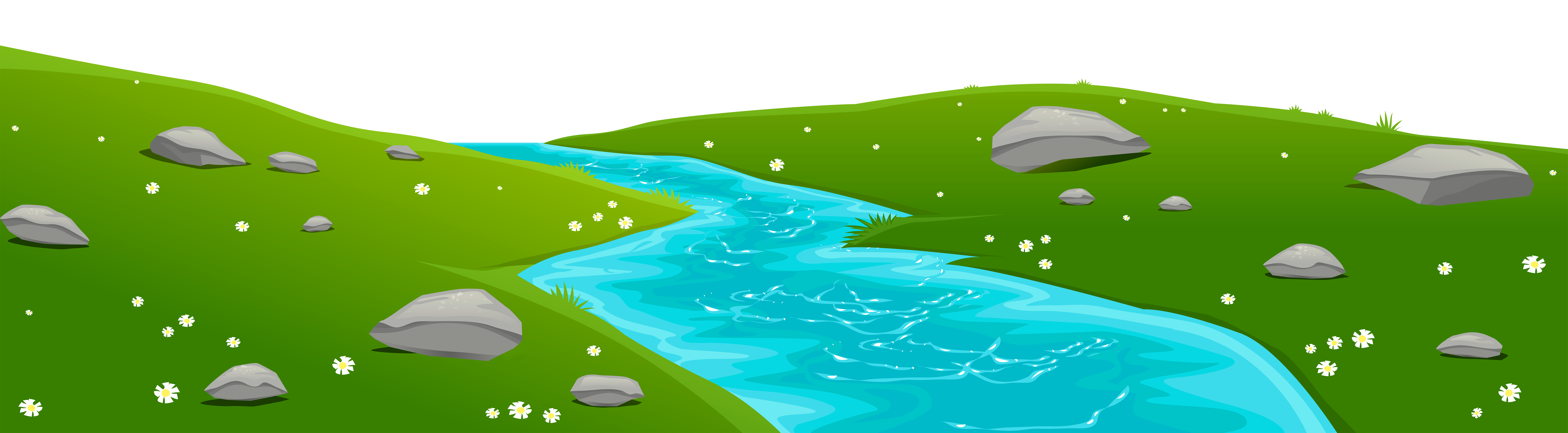 Clipart of a river clipart transparent download River Ground Cover Transparent PNG Clip Art Image clipart transparent download
