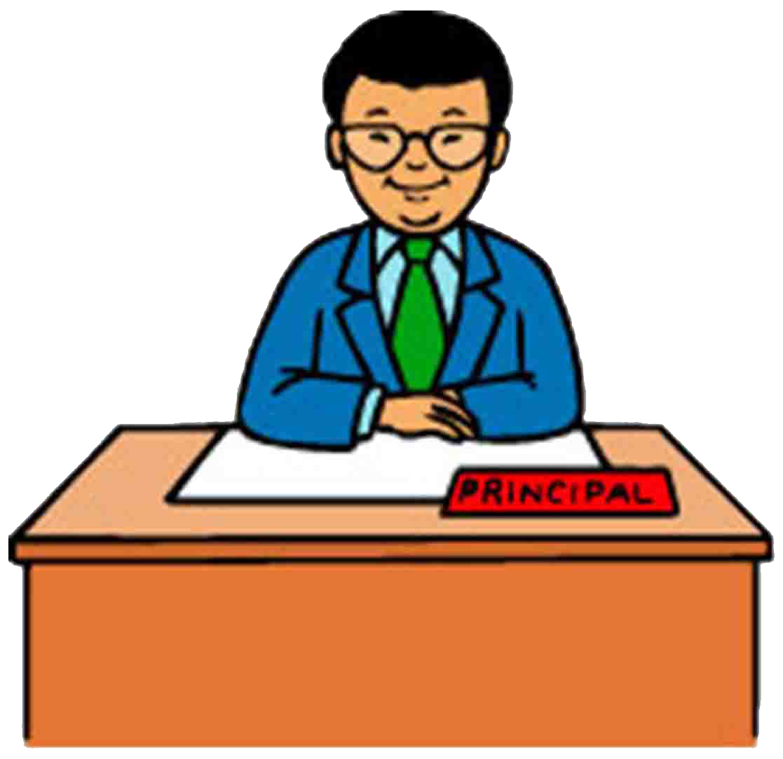 School administration clipart