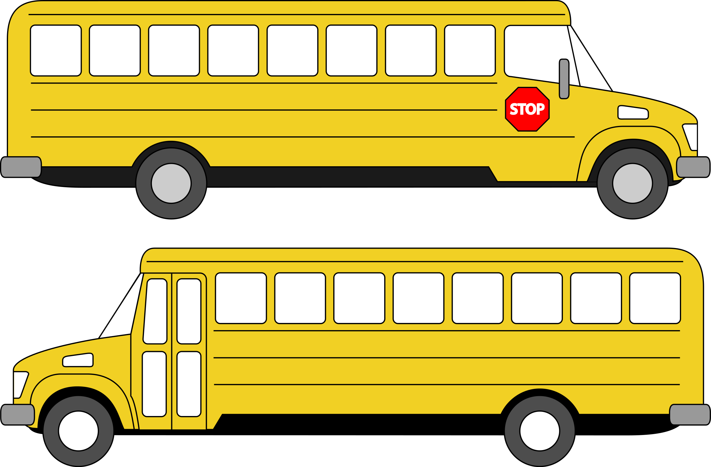 School bus safety clipart clip art black and white library Clipart - School bus clip art black and white library