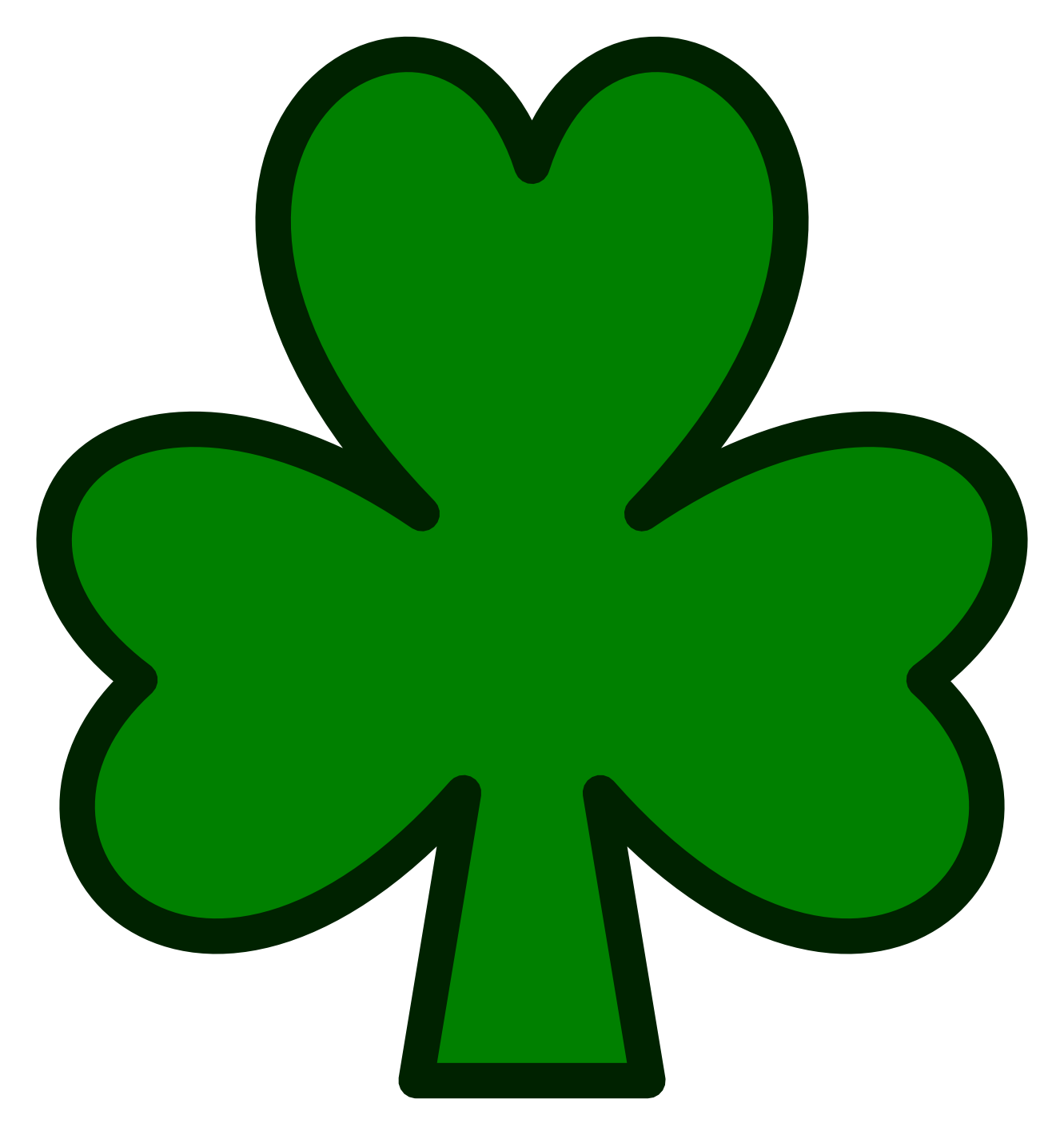 Clipart shammrock picture freeuse Free Shamrock Clip Art, Download Free Clip Art, Free Clip Art on ... picture freeuse
