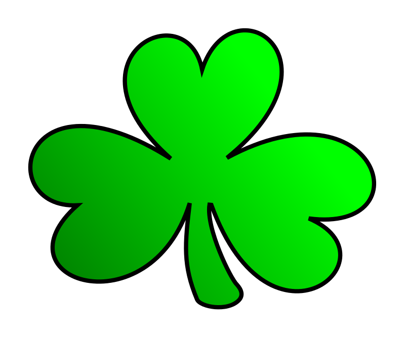 Clipart shamrock free banner royalty free stock Free Clipart: Green Shamrock | KAMC banner royalty free stock