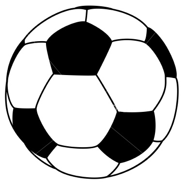 Clipart of a soccer ball png black and white download Clipart of a soccer ball - ClipartFest png black and white download
