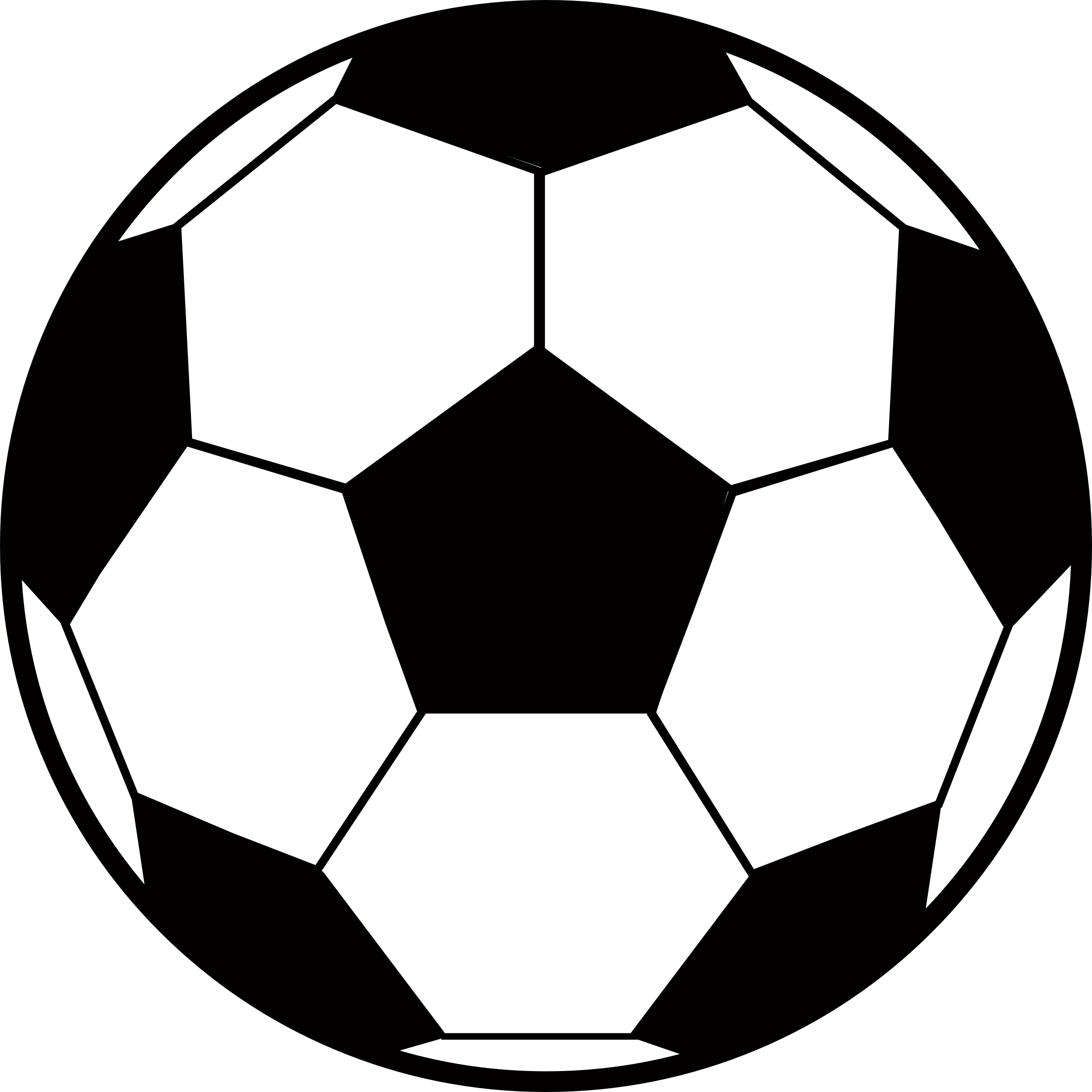 Clipart of a soccer ball png black and white download Clipart - Soccer Ball (#2) png black and white download