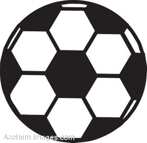 Clipart of a soccer ball jpg free Soccer Ball With Flames Clipart | Clipart Panda - Free Clipart Images jpg free