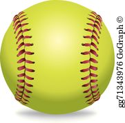 Clipart softball pictures transparent Softball Clip Art - Royalty Free - GoGraph transparent