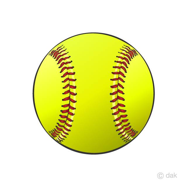 Clipart softball pictures png free download Softball Ball Clipart Free Picture|Illustoon png free download