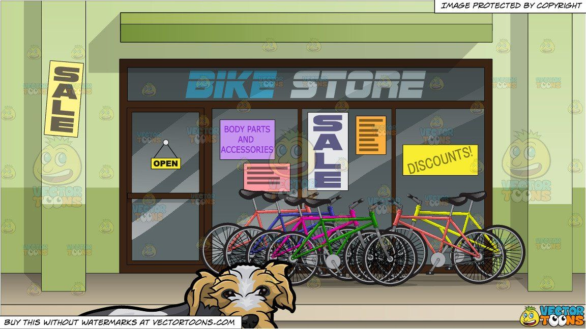 Clipart of a store