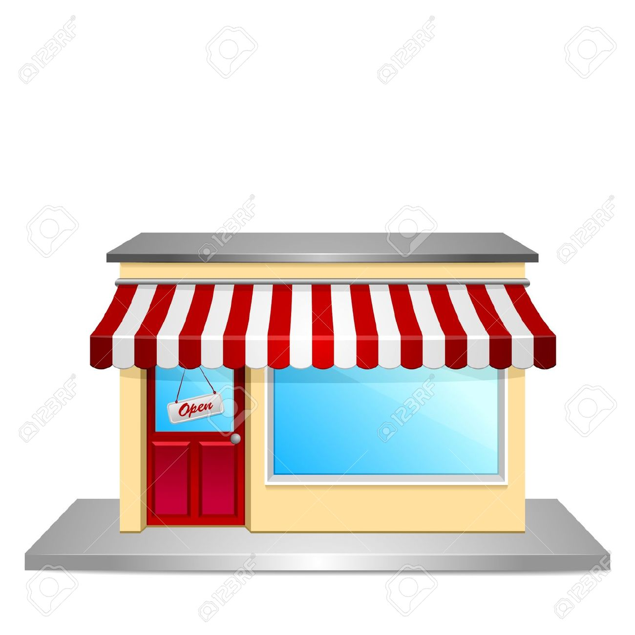 Clipart of a store jpg library 5+ Storefront Clipart | ClipartLook jpg library