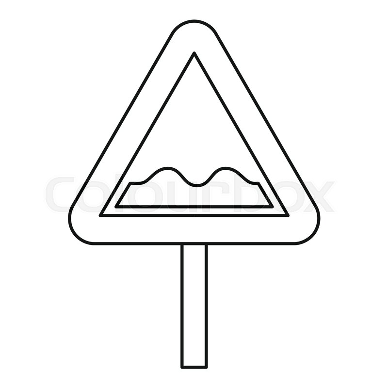 Clipart of a street sign black and white picture freeuse Road sign clipart black and white 3 » Clipart Station picture freeuse