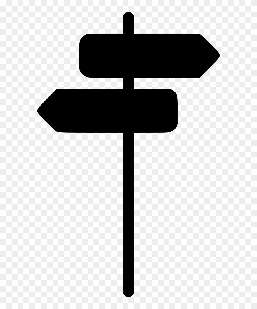 Clipart of a street sign black and white black and white library Direction Sign Arrow Back Next Street Traffic Comments - White ... black and white library