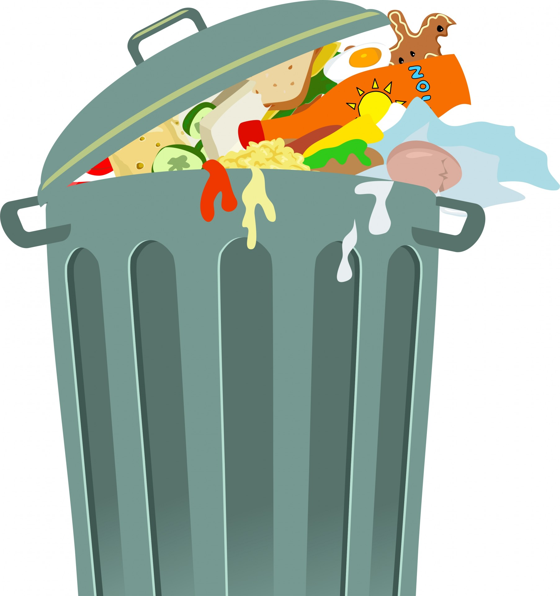 Free trash clipart picture Trash Can Clip Art Free Stock Photo - Public Domain Pictures picture